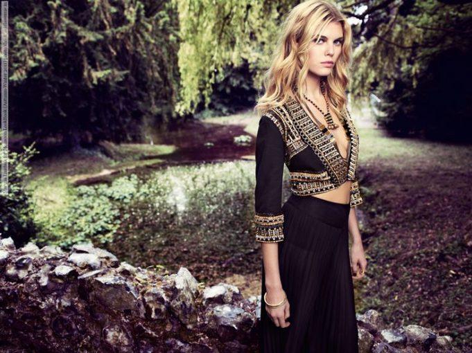 Maryna Linchuk for Monsoon LookBook (Autumn-Winter 2011) photo shoot