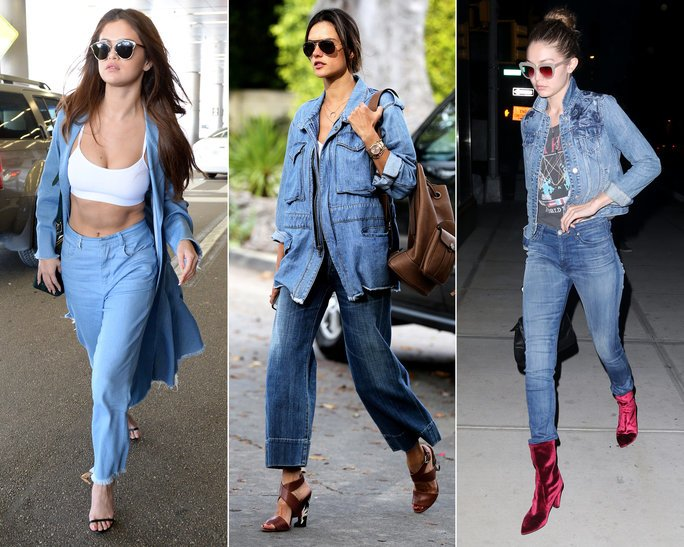 Make It More Casual This Season Check Out Denim On Denim