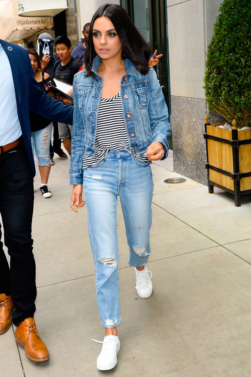 Make It More Casual This Season: Check Out Denim On Denim ...