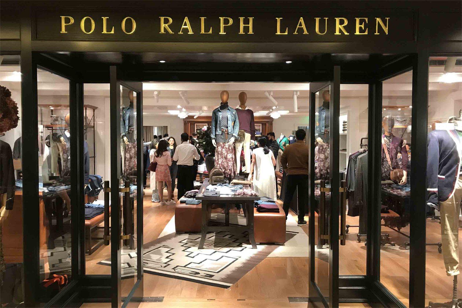 Delhi At Delhi's Emporio Lauren Polo Ralph Store Dlf 354ARLqScj