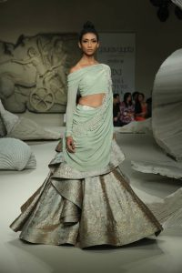 Ruffle-Lehena2018 Indian Bridal Trends _ Style Godsga-Choli-Bridal