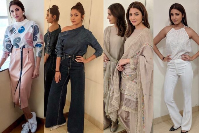 Anushka Sharma Promotion Looks