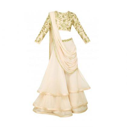 Lehenga Saree Trend _ Style Gods