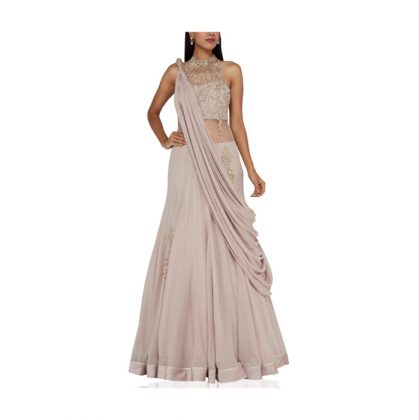 LeLehenga Saree Trend _ Style Godshenga-sari-6