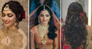 Indian wedding hairstyles _ Style Gods