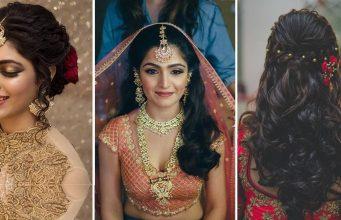 Indian wedding hairstyles _ Style Gods