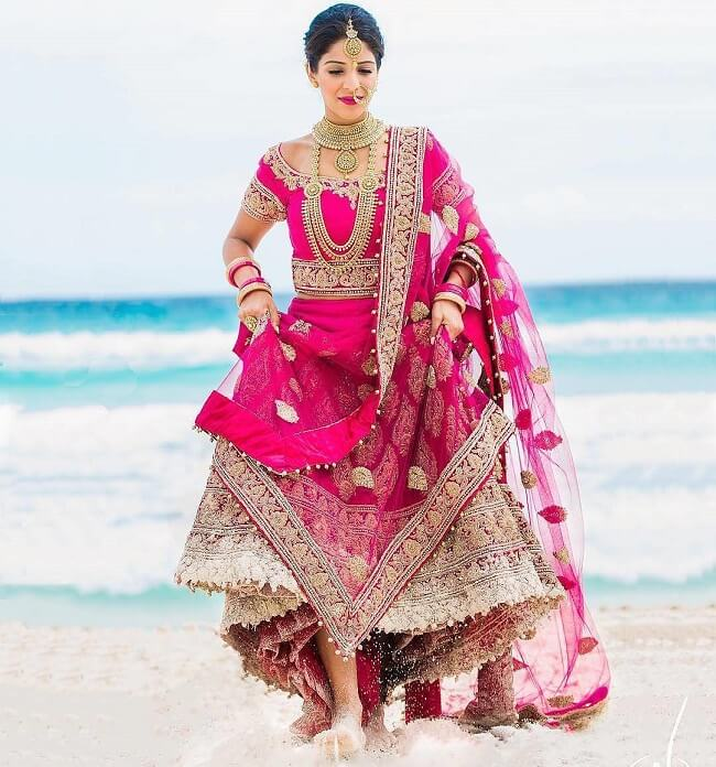 9-pink-color-bridal-lehenga