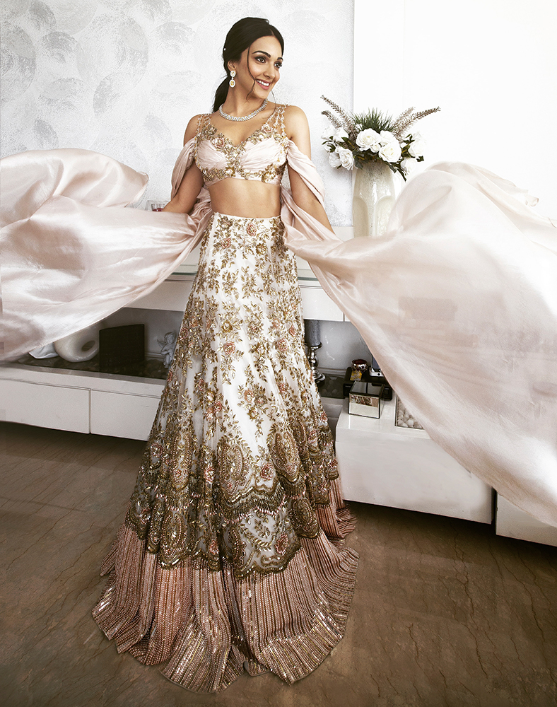 Manish Malhotra Bridal Collection Harmonizing Traditional Silhouettes