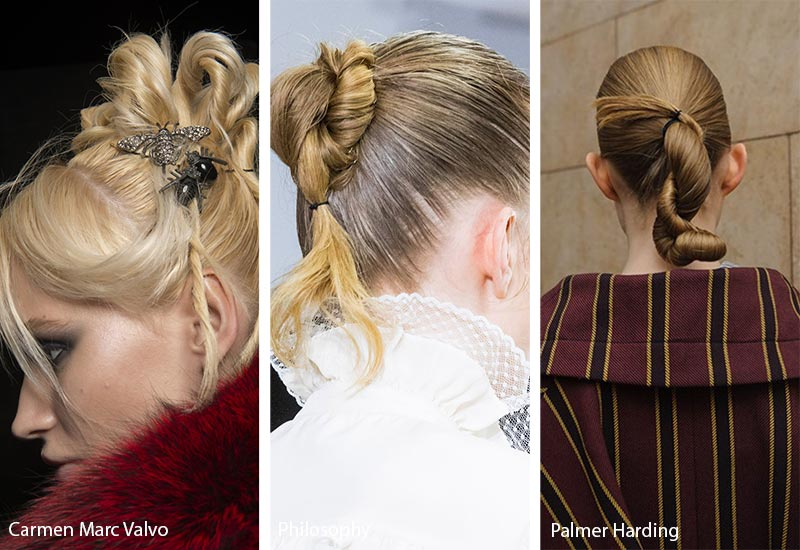 fall_winter_2018_2019_hairstyles_trends_chignons_knots2