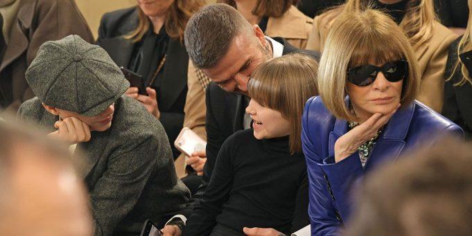 Harper Beckham / Anna Wintour