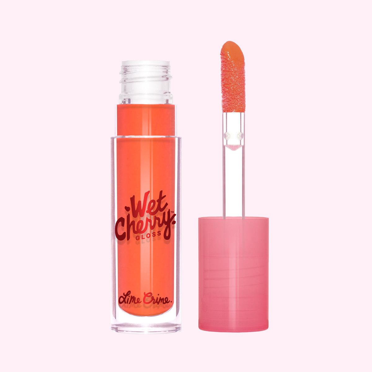 lime crime wet cherry gloss