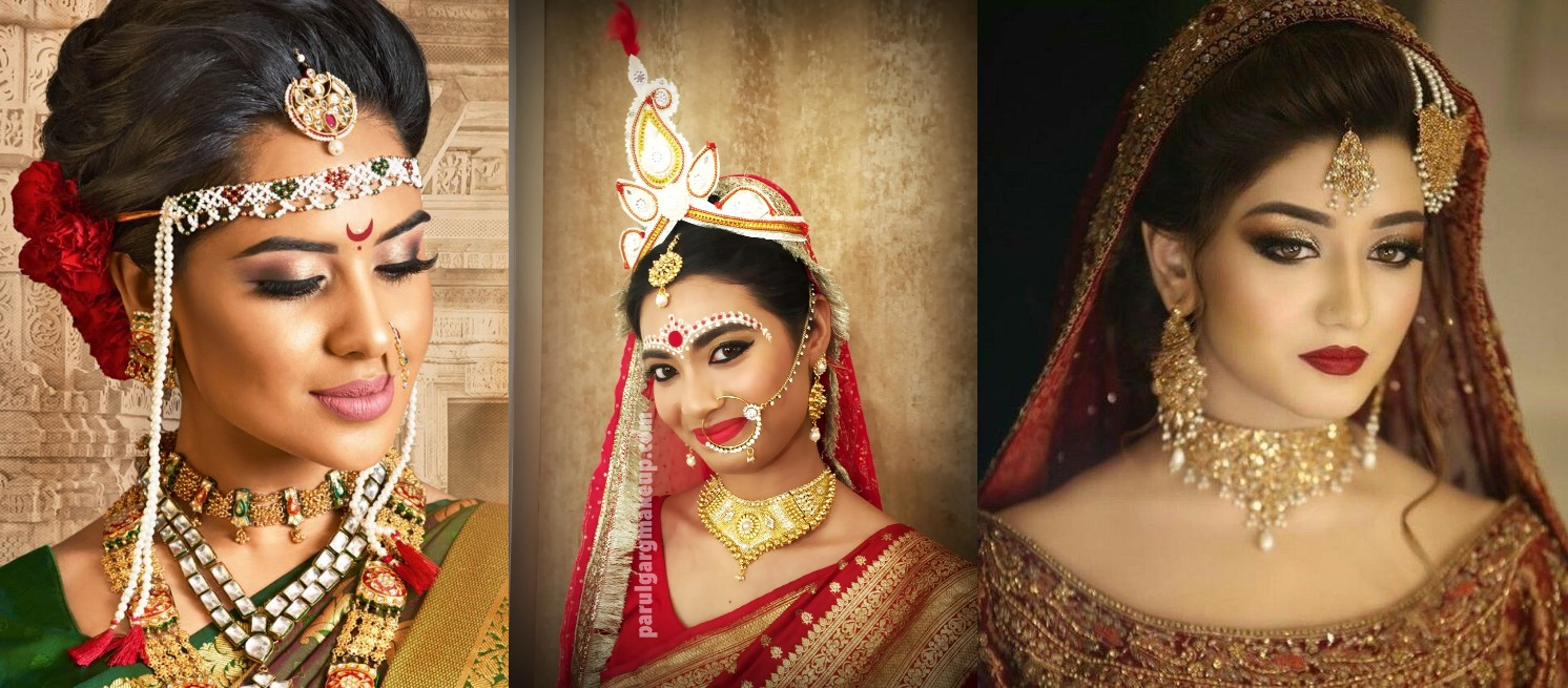 Different Types Of Indian Bridal Makeup 2019