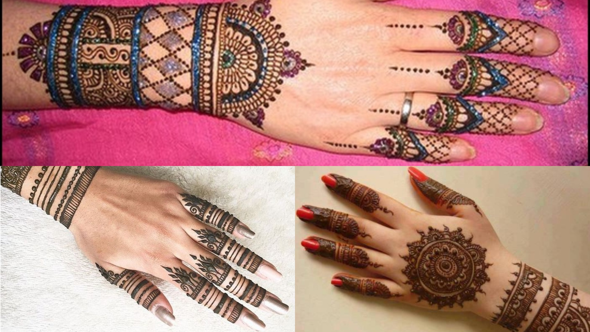 Easy \u0026 Simple Mehndi Designs in 2019 For Every Occasion