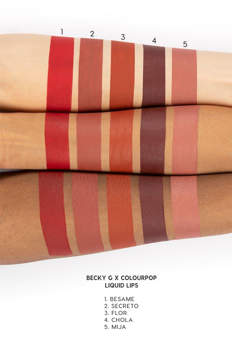 becky g x colourpop