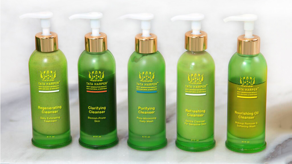 tata harper clarifying cleanser-sustainable beauty products
