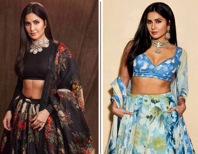 traditional outfits of Katrina on Instagram