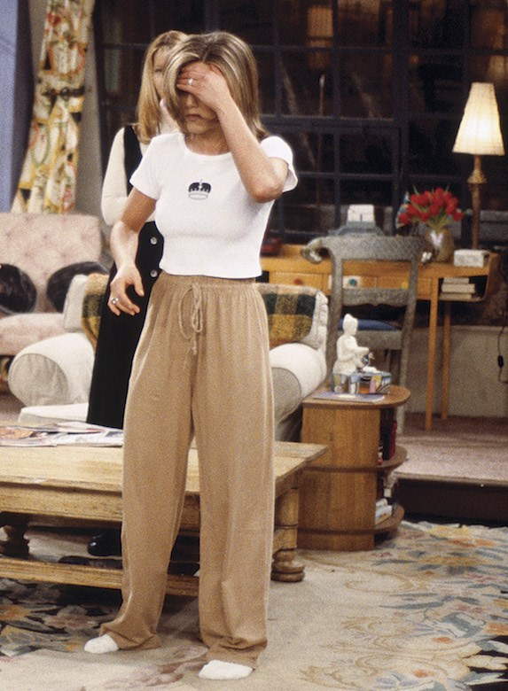 looks of Jennifer Aniston from friends