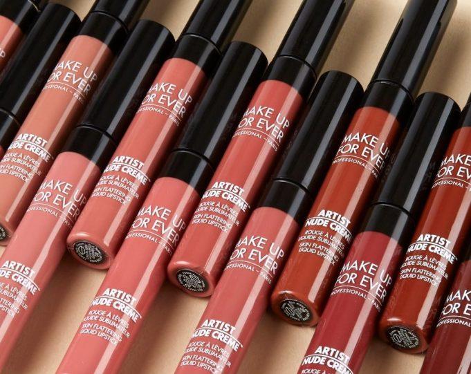 MUFE Artist Nude Creme Lipsticks