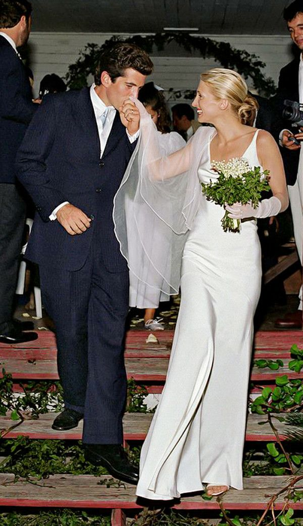 Carolyn Bessette-Kennedy Narciso Rodriguez Wedding Gown