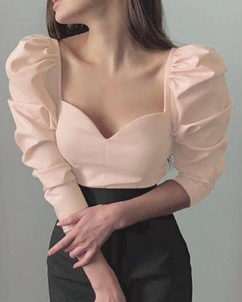 Puff-sleeves